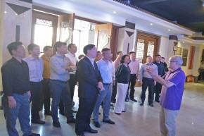 湛江市政协主席带队到小公园开埠区调研