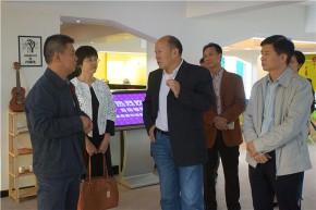 区政协主席林良旭带队前往汕头大学拜访市政协副主席陈严,并开展中以科技创新合作区调研活动