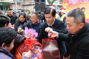 区政协开展精准扶贫及节前送温暖活动