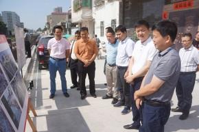 广西钦州市钦南区政协莅临金平学习考察城市品质提升工作